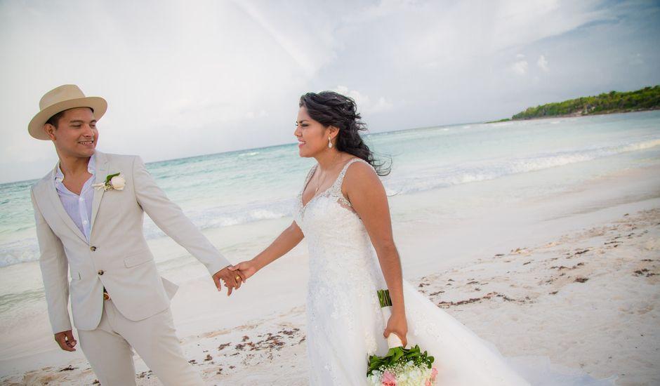 La boda de Kevin y Alina en Playa del Carmen, Quintana Roo