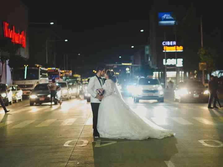 La boda de Edna y José Antonio