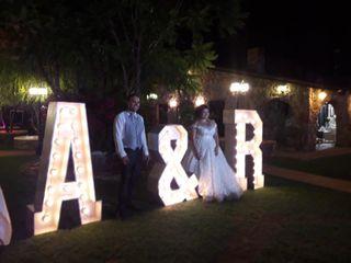 La boda de Andrea  y Robert
