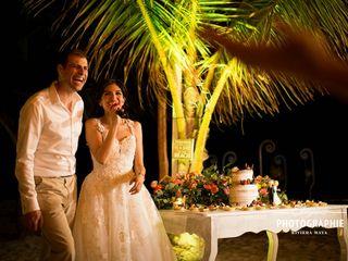La boda de Larissa  y Tobías  1