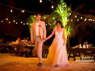 La boda de Larissa  y Tobías  2