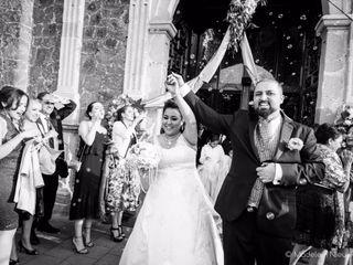La boda de Annahel y Karam