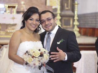 La boda de Edna  y Hiram