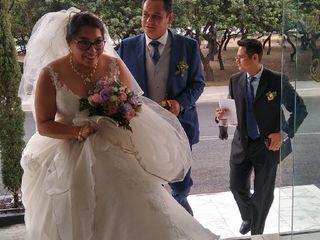 La boda de Judith y Esaú