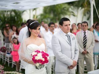 La boda de Angie y Michel
