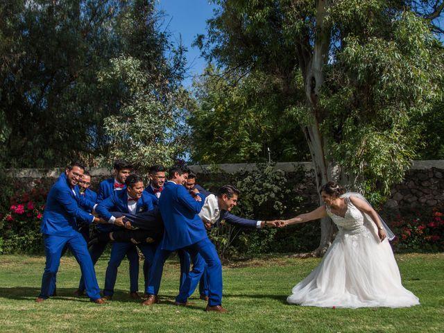 La boda de Sergio y Nancy en Querétaro, Querétaro 19