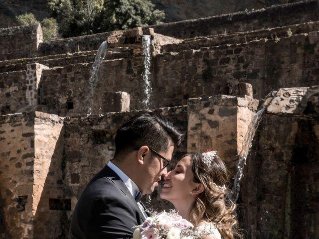 La boda de Omar y Nancy en Huasca de Ocampo, Hidalgo 2