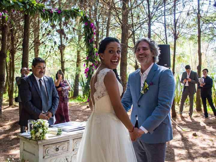 La boda de Roxana y Cedric