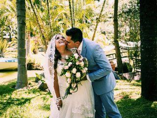 La boda de Karen y Axel