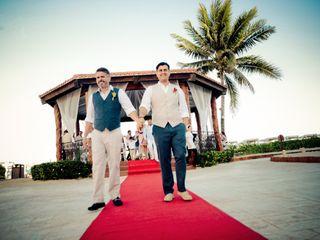 La boda de Elías y Daniel