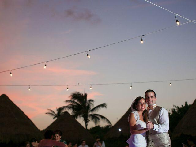 La boda de Leticia y Alexis