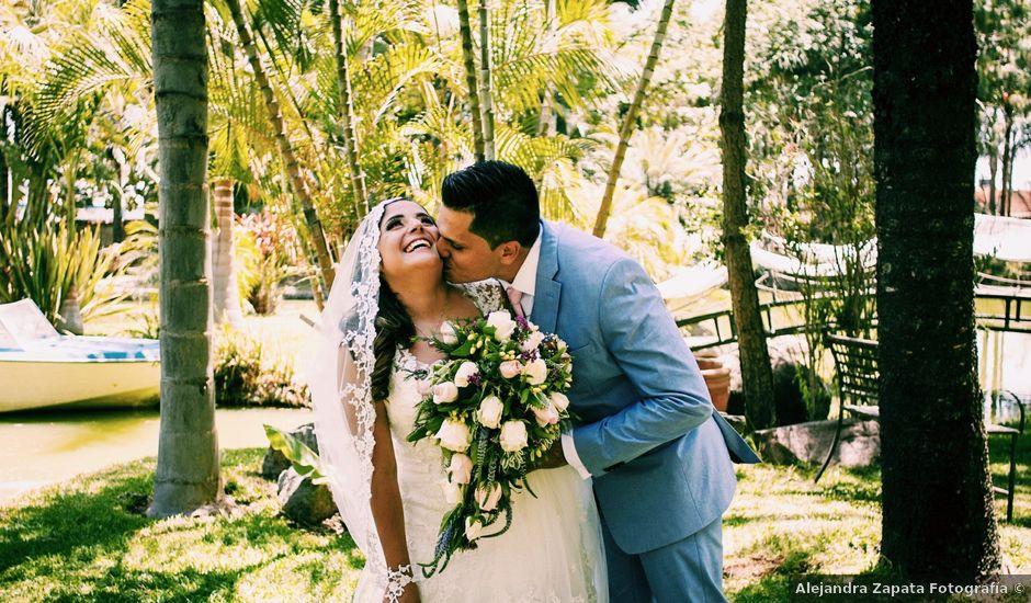 La boda de Axel y Karen en Tonalá, Jalisco