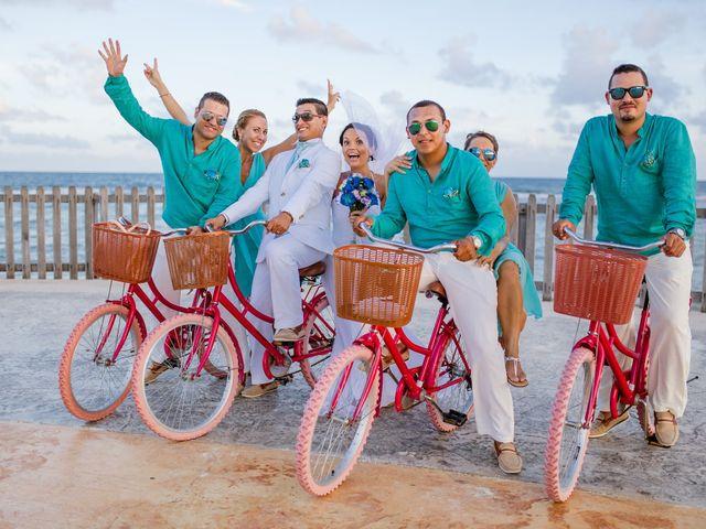 La boda de Marcus y Anna en Chetumal, Quintana Roo 32