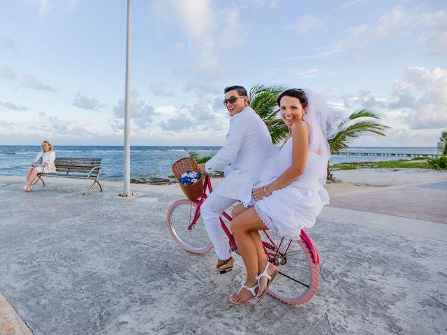 La boda de Marcus y Anna en Chetumal, Quintana Roo 33