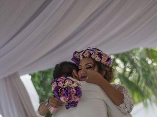 La boda de Luz Andrea y Irahiam  1