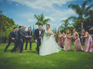 La boda de Karen y Alejandro