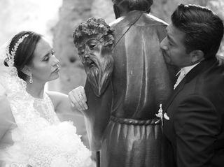 La boda de Silvia y Zahet 1
