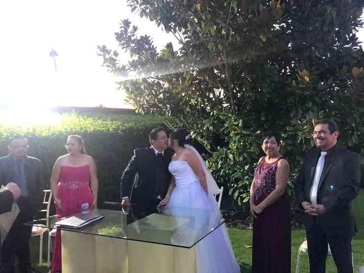 La boda de Karina  y Carlos