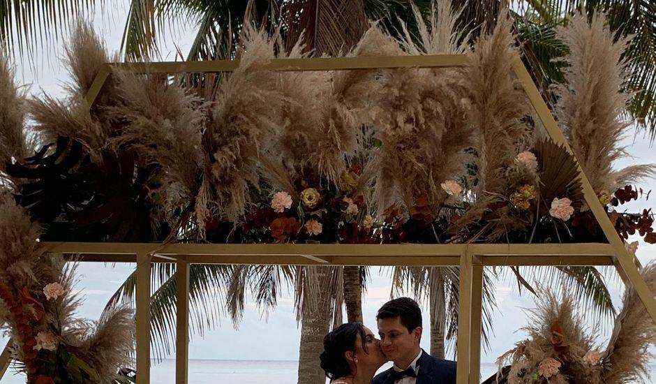 La boda de Camilo y Kelly  en Playa del Carmen, Quintana Roo