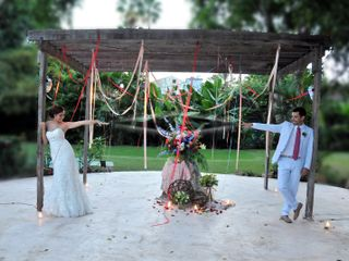 La boda de Daniela y Israel