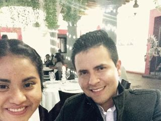 La boda de Nadia López y Edgar Meza 1