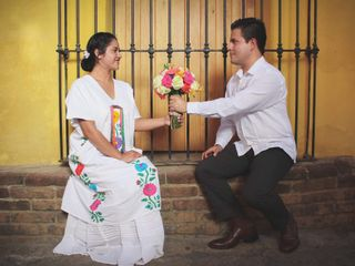 La boda de Nadia López y Edgar Meza