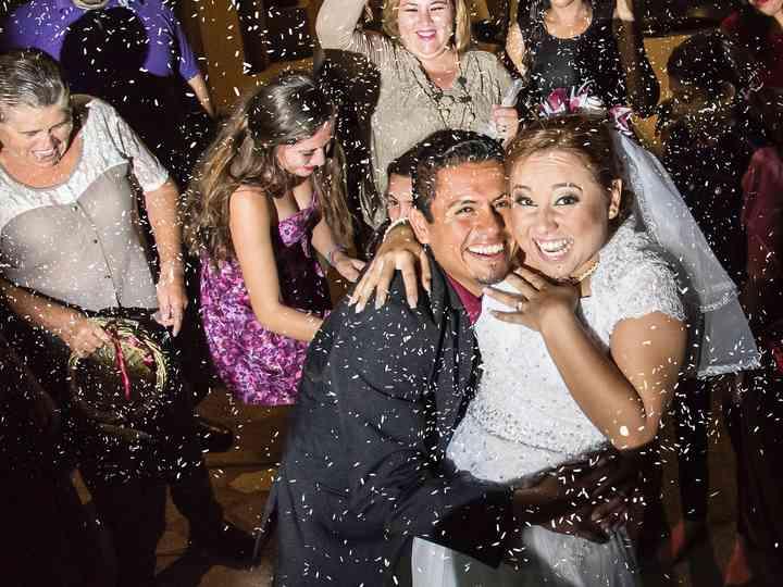 La boda de Gladis y Alberto