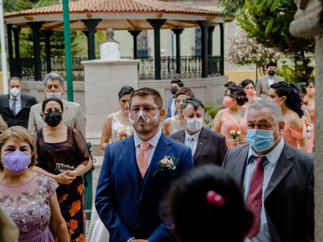 La boda de Joaquin y Daniela en Zitácuaro, Michoacán 30