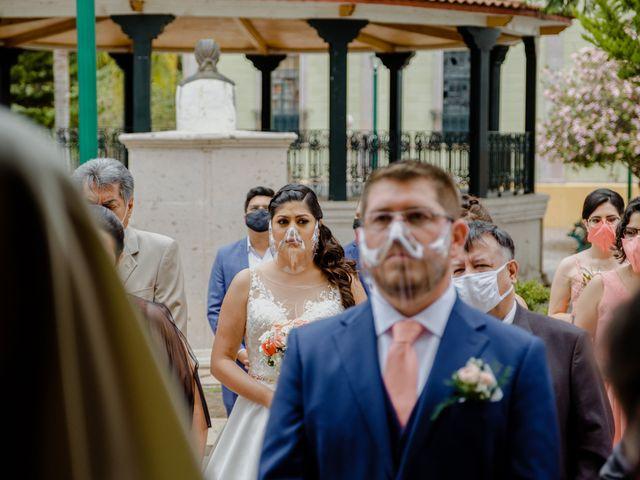 La boda de Joaquin y Daniela en Zitácuaro, Michoacán 31