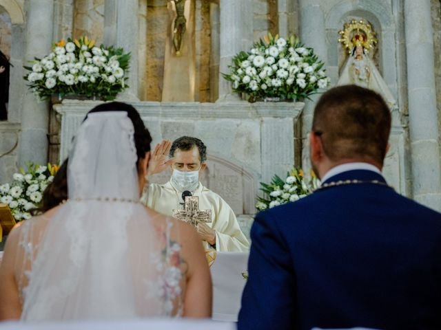 La boda de Joaquin y Daniela en Zitácuaro, Michoacán 39