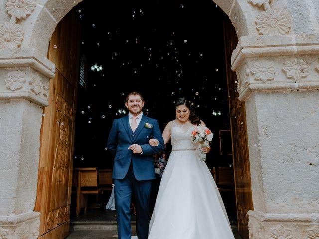 La boda de Joaquin y Daniela en Zitácuaro, Michoacán 40