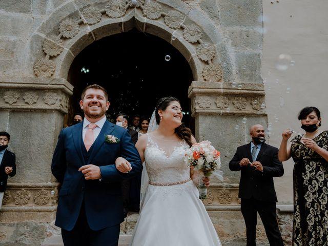 La boda de Joaquin y Daniela en Zitácuaro, Michoacán 41