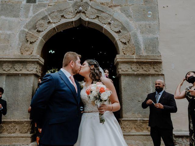 La boda de Joaquin y Daniela en Zitácuaro, Michoacán 42