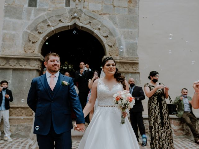 La boda de Joaquin y Daniela en Zitácuaro, Michoacán 44
