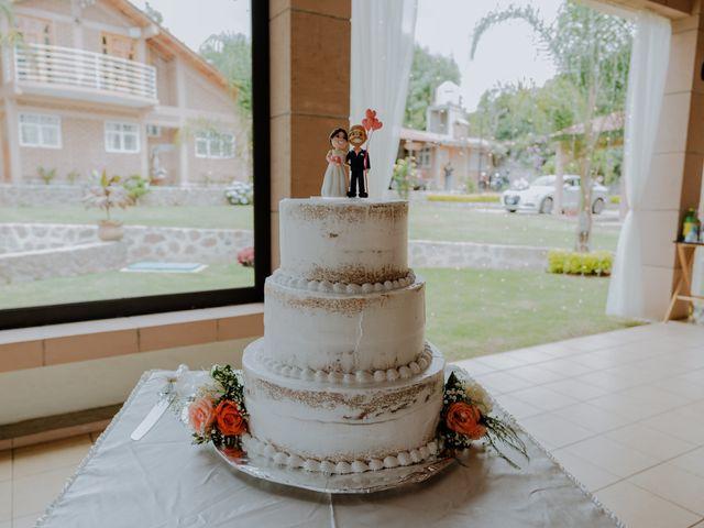 La boda de Joaquin y Daniela en Zitácuaro, Michoacán 45