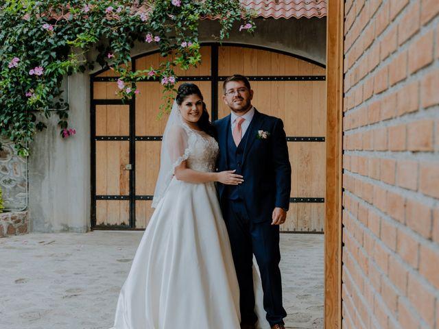 La boda de Joaquin y Daniela en Zitácuaro, Michoacán 50
