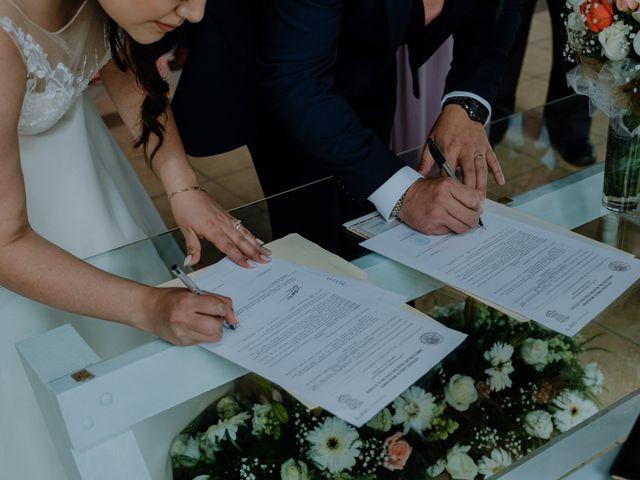 La boda de Joaquin y Daniela en Zitácuaro, Michoacán 59