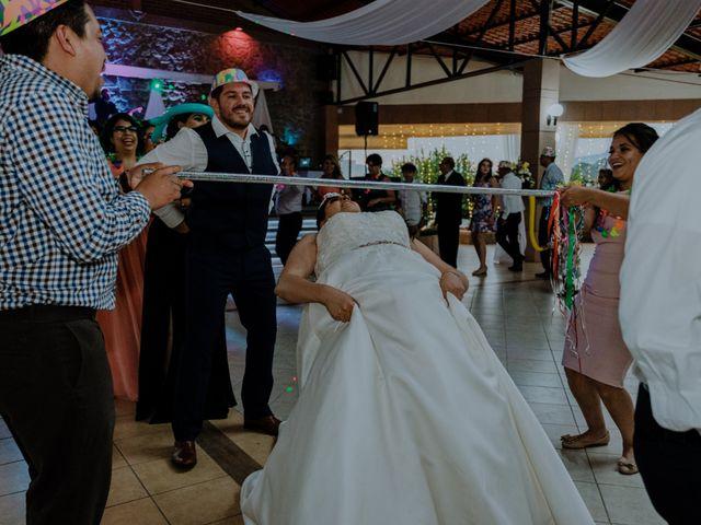 La boda de Joaquin y Daniela en Zitácuaro, Michoacán 85