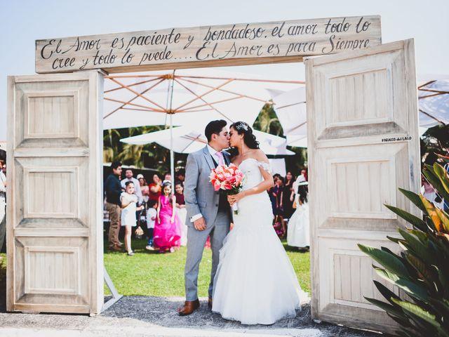 La boda de Emmanuel y Dorian en Morelos, Estado México 12