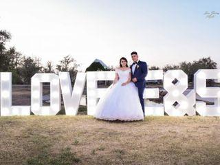 La boda de Saúl  y Elena