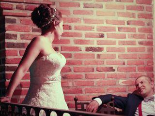 La boda de Isaura y César