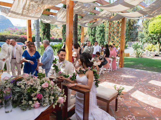 La boda de Alex y Sandra en Tlayacapan, Morelos 33