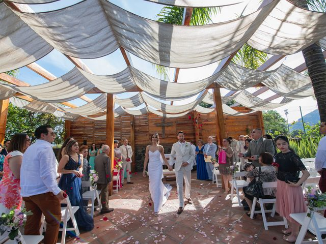 La boda de Alex y Sandra en Tlayacapan, Morelos 36