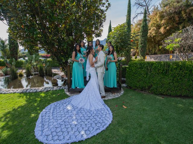 La boda de Alex y Sandra en Tlayacapan, Morelos 37