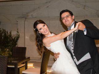 La boda de Rosal y Daniel