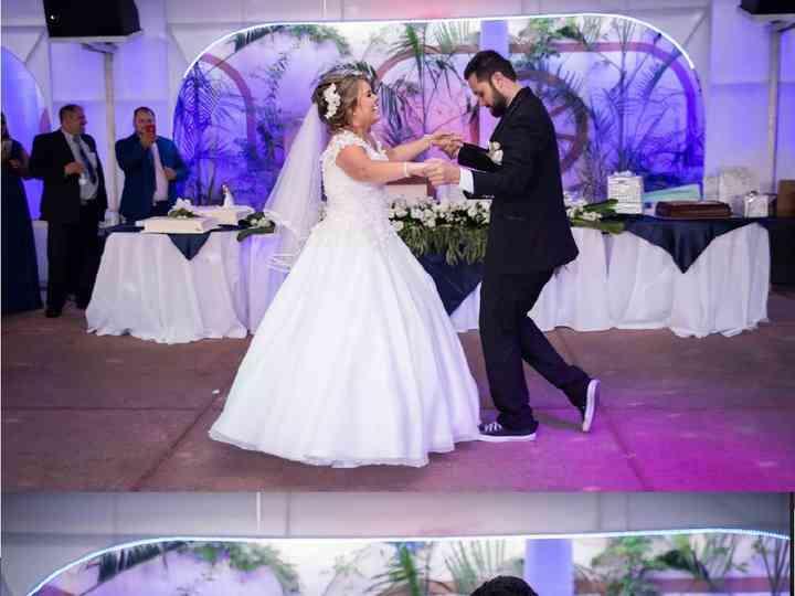 La boda de Betsabé y Axel