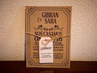 La boda de Sara y Gibran 1