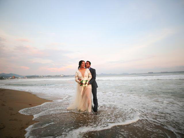 La boda de Catalina y Junior
