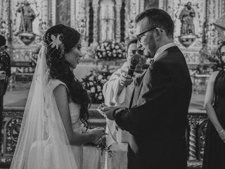 La boda de Claudia y José María