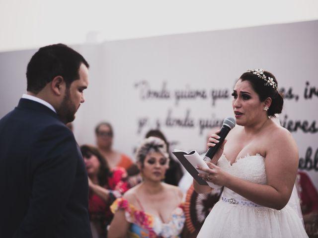 La boda de Kiki y José
